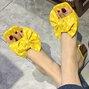 Polka Dots Daily Bowknot Slippers