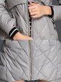 Hoodie Pockets Zipper Casual Winter Down Coat