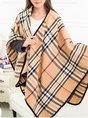 Checkered/plaid Cashmere Scarves
