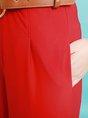 Elegant Short Sleeve Solid Crew Neck Jumpsuit