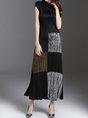 Stand Collar Sleeveless Elegant Sheath Party Slit Maxi Dress