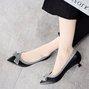 Elegant Bowknot Date Pointed Toe Sweet Kitten Heels