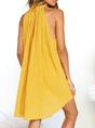 Shift Women Daily Basic Sleeveless Solid Summer Dress