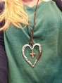 Women Necklace Heart