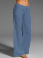 Solid Sweet Wide Leg Pants