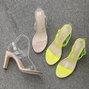 Sexy Pvc Open Toe High Heel Summer Sandals