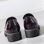 Chunky Heel Round Toe Women Casual Shoes