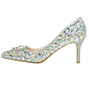 High Heel Rhinestone Party & Evening Shoes