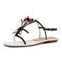 Holiday Summer Adjustable Buckle Flower Sandals