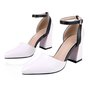 Color Block Party & Evening Pointed Toe Shoes