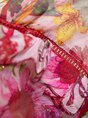 Frill Sleeve Ruffled Shift Beach Floral Midi Dress