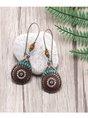 Boho Alloy Casual Earrings