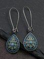 Women Summer Holiday Bohemia Vintage Earrings