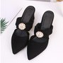 Bowknot Imitation pearls Summer Sandals