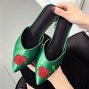 Casual Spring/Summer Chunky Heel Closed Toe Slippers