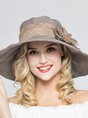 Summer Beach Holiday Daily Flower Guipure Lace Hat