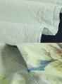 Summer Floral Printed Paneled Casual Pockets Linen Dress