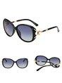 Alloy Imitation Pearl Elegant Women Summer Beach Holiday Sunglasses