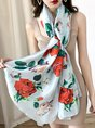 Summer Daily Holiday Floral Printed Scarf