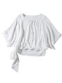 Daily Solid Bow Casual Summer Blouse