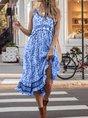 Holiday Sleeveless Boho Floral Dress