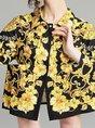 Printed Floral Date Midi Dress