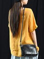 Shift Casual Solid T-Shirt Top