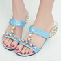 Summer Glitter Casual Daily Slippers