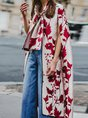 Going Out Cape Sleeve Statement Kimono