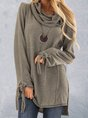 Plus size Long Sleeve Casual Top