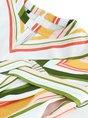 Multicolor Striped Long Sleeve Jumpsuit