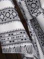 Tribal Print Long Sleeve Casual Top