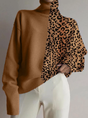 Leopard Print Shift Casual Top