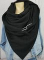 Cotton-blend Casual Scarve