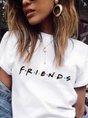 Short Sleeve Floral-Print Casual T-Shirt