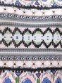 Women Graphic A-Line Spaghetti-Strap Printed Midi Dress