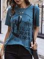 Shift Casual Printed T-Shirt
