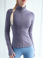 Yoga Long Sleeve Turtleneck Sports Top
