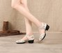 Date Summer Cowhide Leather Sandals