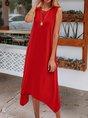 Red Swing Daily Sundress Midi Dress