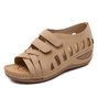 Pu Hollow-Out Summer Sandals