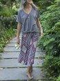 Summer Shift Boho Beach Maxi Skirt