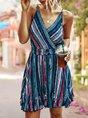 Sundress A-Line Casual Boho Mini Dress