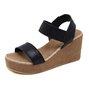 Summer Wedge Heel Elastic Band Sandals