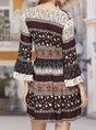 Bell Sleeve Tie-Neck Floral Boho Mini Dress