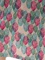 Multicolors Daily Vintage Leaves Mini Dress