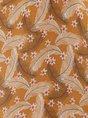 Halter Yellow Beach Shirred Floral Midi Dress
