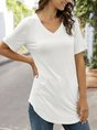 Short Sleeve Shirts Daily Casual Top