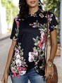 Summer Holiday Floral Printed Top