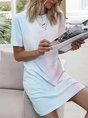 Blue  Shift Daily Casual Mini Dress